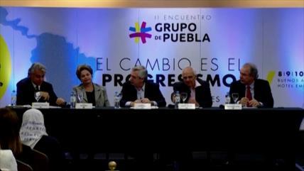 El Grupo de Puebla rechaza golpe de Estado contra Evo Morales