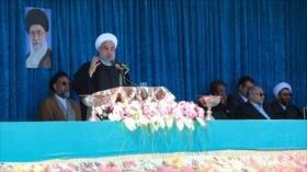 Rohani: Irán nunca cederá ante la presión de los enemigos