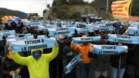 Tsunami Democràtic llama a España a zanjar la crisis en Cataluña