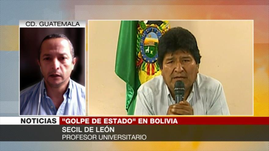 De León: Hay huellas de EEUU en golpe de Estado en Bolivia