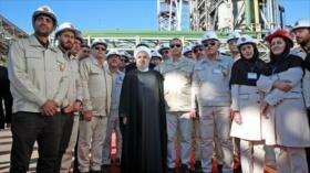 Irán incrementa producción de acero abriendo una nueva fábrica