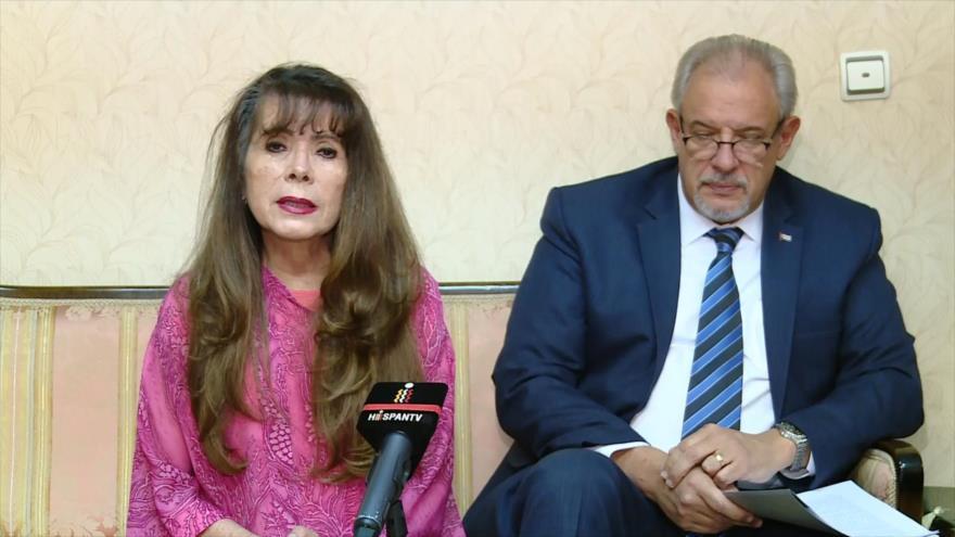 Embajadora boliviana en Irán denuncia golpe contra Morales