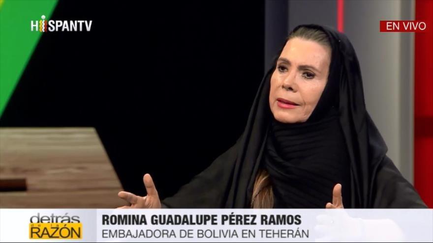 Embajadora de Bolivia en Irán aborda golpe militar contra Morales | HISPANTV