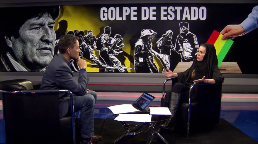 """""""Hay una mente criminal detrás del golpe de Estado contra Morales""""   HISPANTV"""