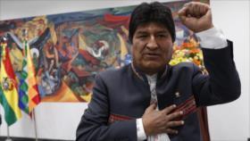 """Morales parte rumbo a México pero promete volver """"con más fuerza"""""""