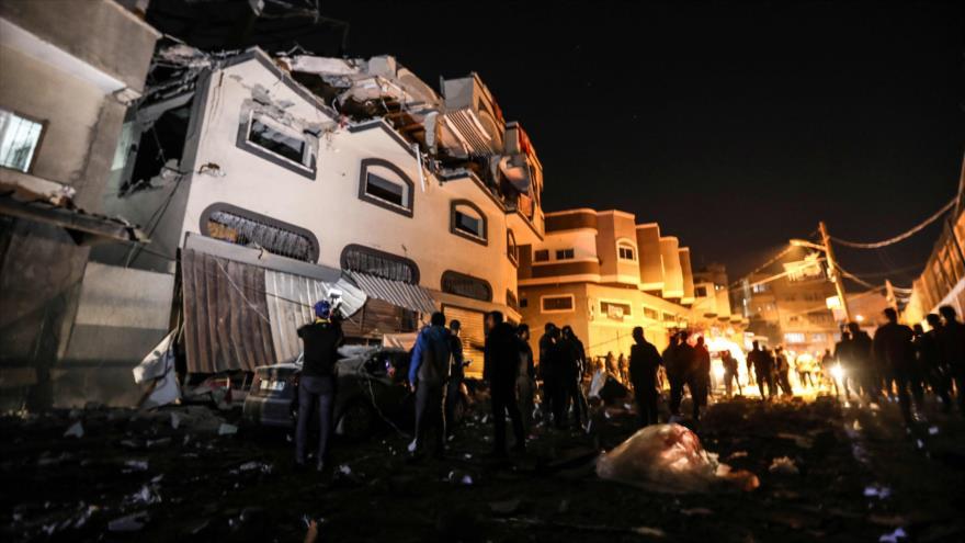 Gaza venga muerte de comandante palestino con ataque a Tel Aviv