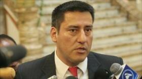 Dimite ministro de Defensa boliviano por desacuerdo con oposición