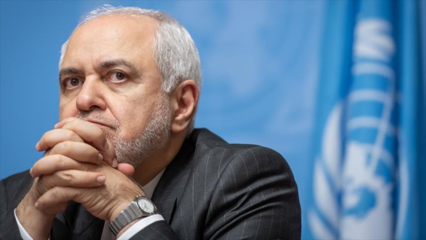 El canciller iraní, Mohamad Yavad Zarif, asiste a una rueda de prensa en Ginebra (Suiza), 29 de octubre de 2019. (Foto: AFP)