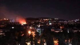 Fotos: Ataque israelí a Damasco deja dos muertos y 10 heridos