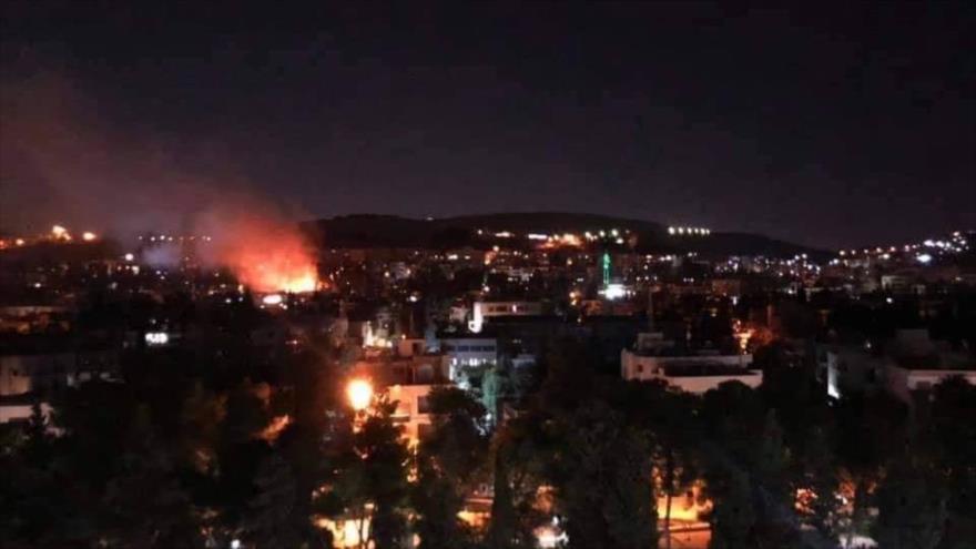 Fotos: Ataque israelí a Damasco deja dos muertos y 10 heridos | HISPANTV