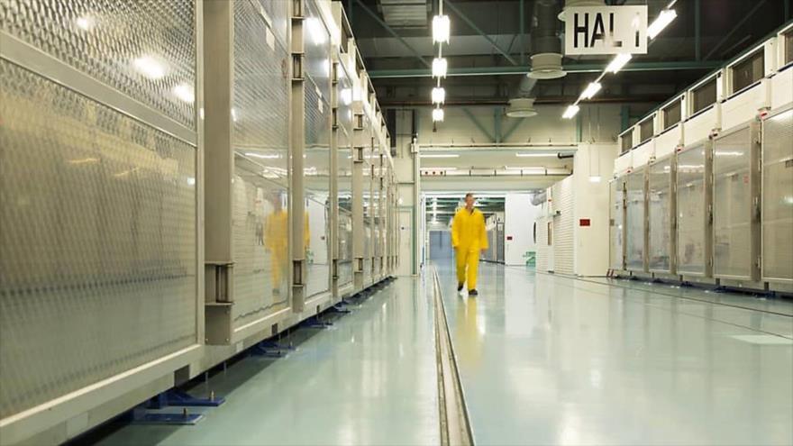 Las instalaciones nucleares de la planta de Fordo, ubicada en el centro del país, 6 de noviembre de 2019. (Foto: AFP)