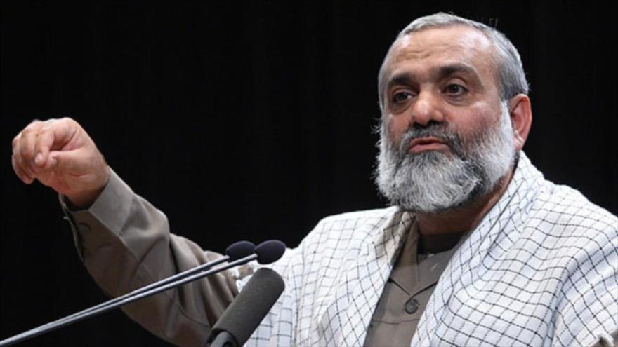 El jefe adjunto del Cuepo de Guardianes de la Revolución Islámica (CGRI) para la coordinación, el general de brigada Mohamad Reza Naqdi.