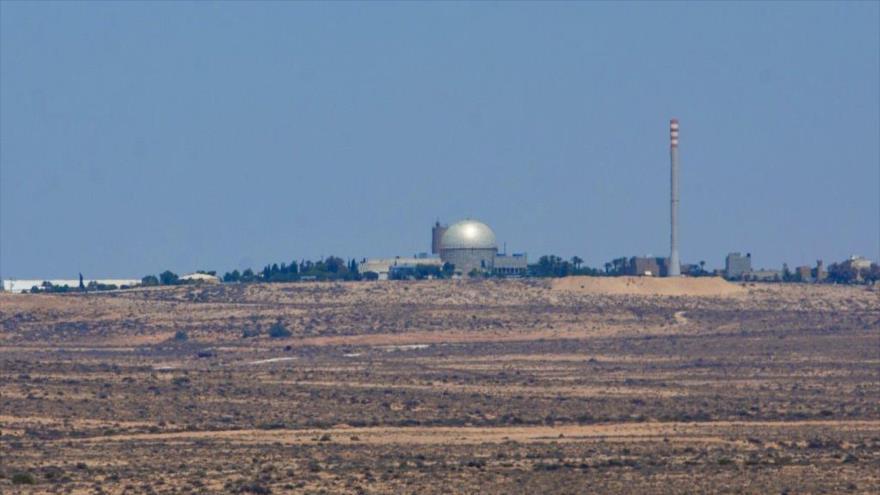 Una central nuclear de Israel en Dimona, en el sur de los territorios ocupados.
