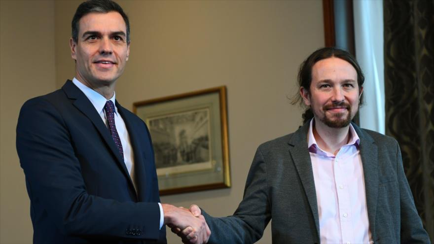 Sánchez e Iglesias alcanzan un preacuerdo para formar gobierno