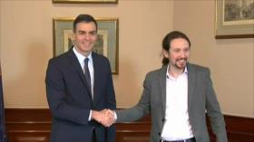 Pacto nuclear iraní. Preacuerdo PSOE-Podemos. Morales en México