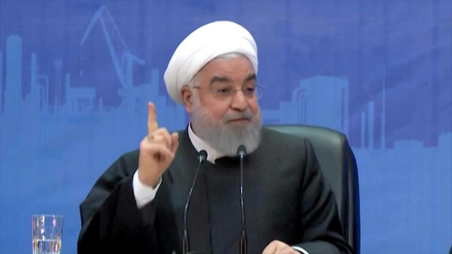 Rohani defiende medida iraní de reducir sus compromisos nucleares | HISPANTV