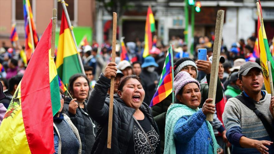 Miles de indígenas en Bolivia denuncian golpe contra Morales | HISPANTV