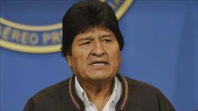 """Morales tacha de """"golpe"""" la autoproclamación de senadora opositora"""