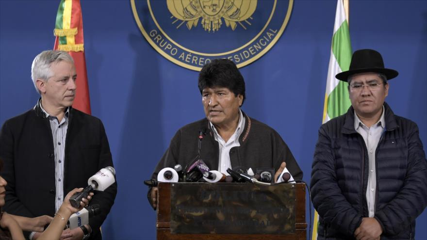 Gobierno de Nicaragua condena golpe de Estado contra Evo Morales