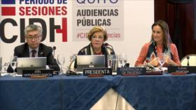 EEUU, Colombia, Chile y Venezuela en la mira de la CIDH