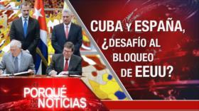 El Porqué de las Noticias: Evo seguirá la lucha. Rey de España en Cuba. Nuevos ataques de Israel contra Gaza