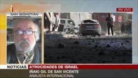 Iñaki Gil: Política israelí la define el ejército y no el ejecutivo