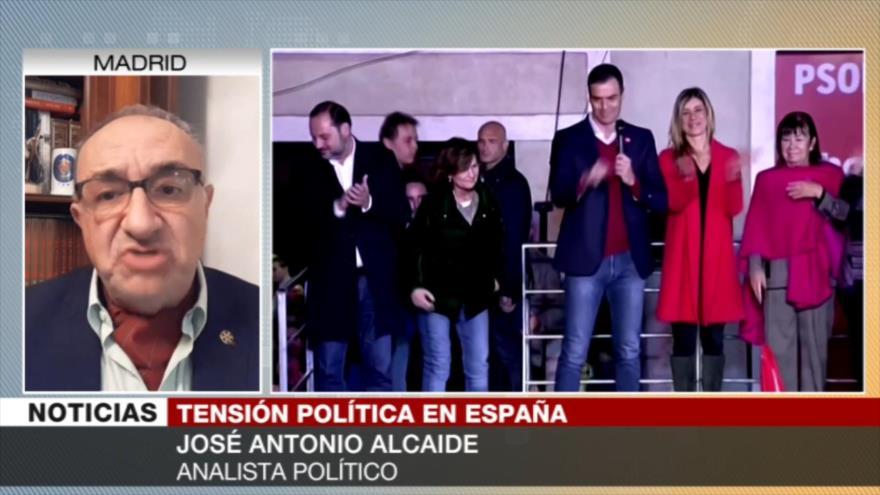 Alcaide: Sánchez saldrá beneficiado de pacto con Unidas Podemos