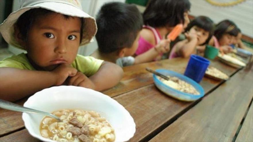 Un informe de la ONU dice que es preocupante el aumento del hambre en América Latina en los últimos años.