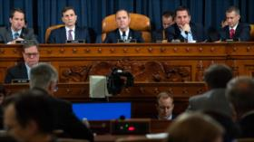 Se celebra primera audiencia pública sobre impeachment a Trump