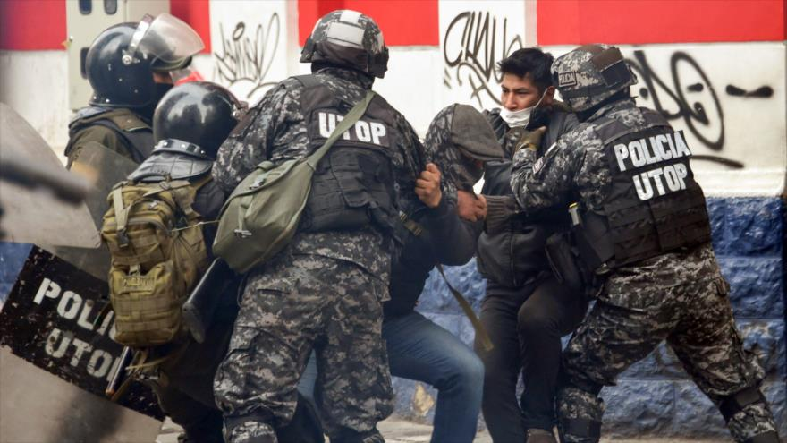 Policía de Bolivia mata a un simpatizante de Morales