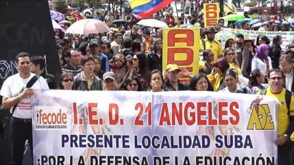 El Gobierno colombiano estigmatiza el nuevo paro nacional