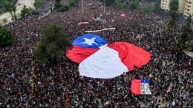 Estiman 3,7 millones de asistentes a alguna de protestas en Chile