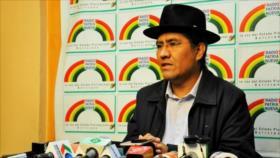 Pary acusa a OEA de ser cómplice y actor del golpe contra Morales