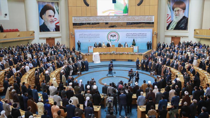 La 33.ª Conferencia Internacional de la Unidad Islámica en Teherán, capital iraní, 14 de noviembre de 2019. (Foto: President.ir)