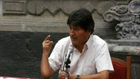 Morales acusa a EEUU de estar detrás de golpe de Estado en Bolivia