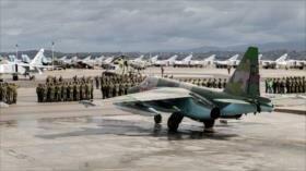 Rusia establece base aérea en antigua fortaleza de EEUU en Siria