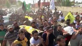 El pueblo palestino reitera su fuerte apoyo a la Resistencia