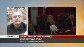 Egido: Áñez representa una dictadura pro norteamericana en Bolivia