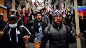 Miles de manifestantes piden renuncia de Áñez y vuelta de Morales