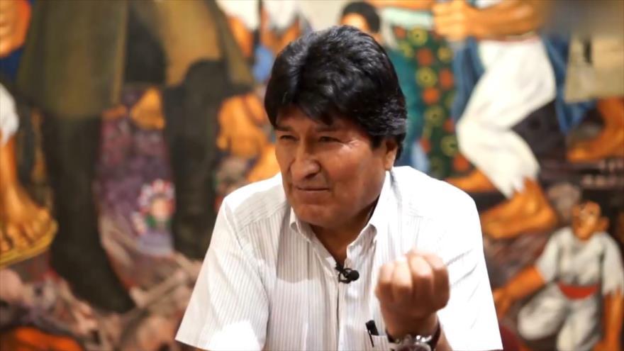 Evo Morales, víctima de un golpe de Estado desde varios frentes