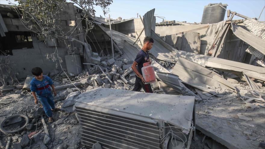 Masacre en Gaza. Operaciones sirias en Idlib. Golpe contra Morales