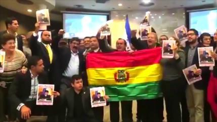 Sector social hondureño expresa su apoyo a Evo Morales