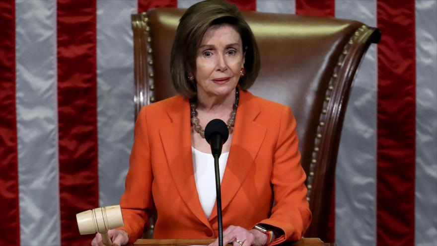 "Pelosi acusa a Trump de cometer ""soborno"" en la trama ucraniana | HISPANTV"