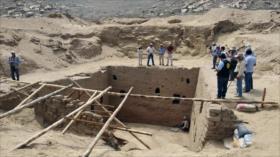 Descubren en Perú un templo de 3000 años de antigüedad