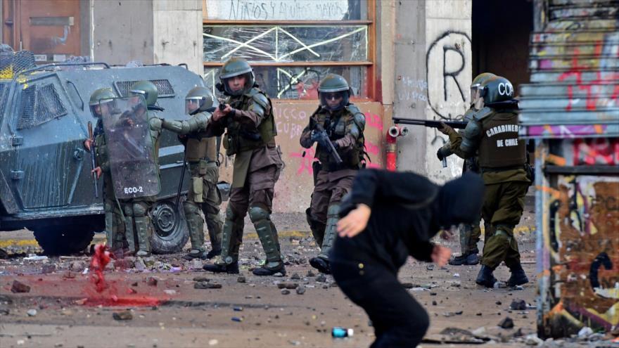 Justicia de Chile registra más de 26 000 detenciones durante protestas