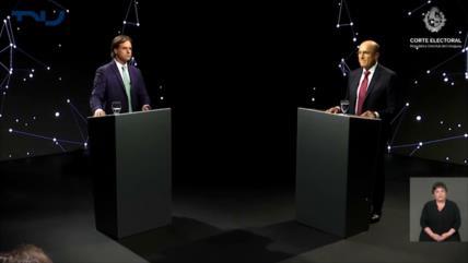 Analistas discuten debate de candidatos presidenciales en Uruguay
