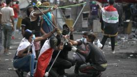 "Irak: Un ""tercero"" está detrás de disparos contra manifestantes"