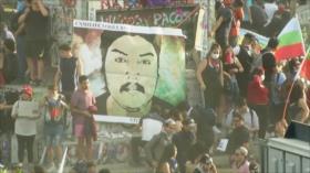Protestan en Chile en aniversario del asesinato de joven mapuche