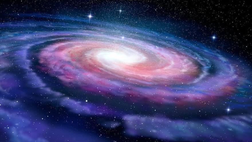 Las galaxias cambian la dirección de rotación cuando se hacen grandes.