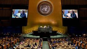 Irán responde a Israel ante la ONU: el mundo apoya a Palestina
